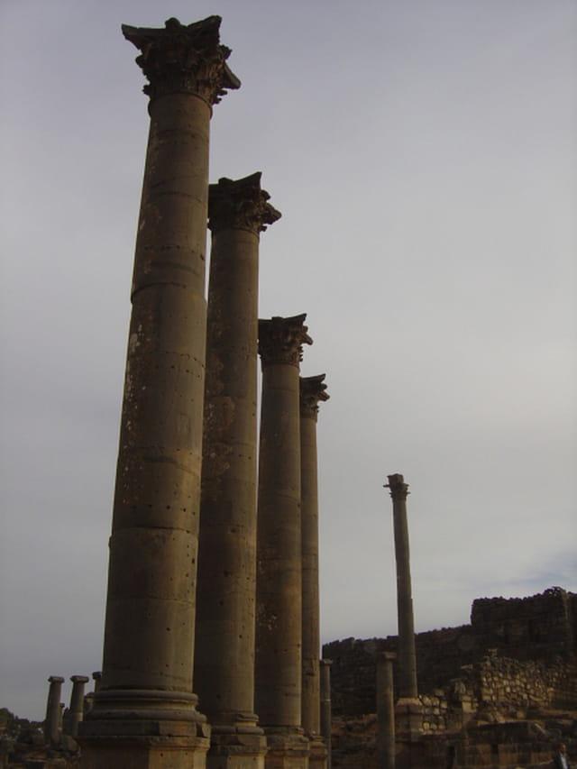 Colonnes corinthiennes du Nymphée