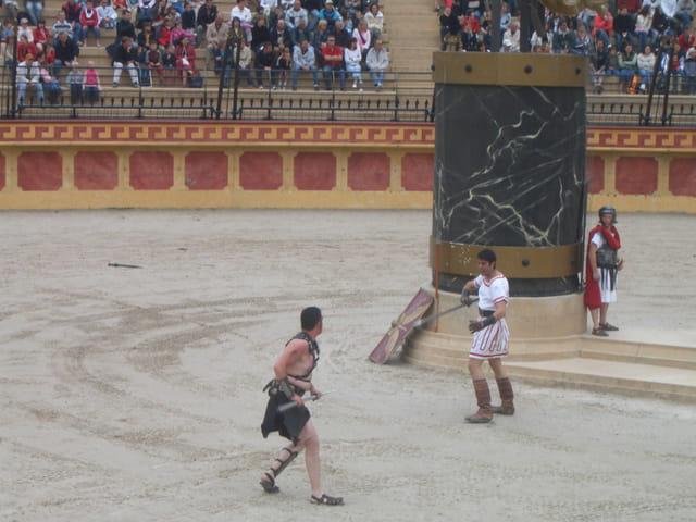 Combat au temps des romains