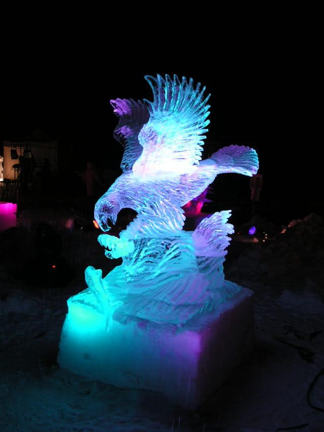 Concours Sculpture sur glace