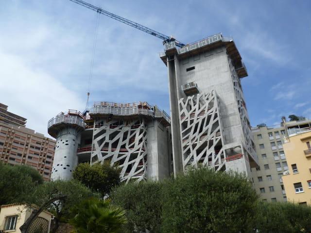 Construction de la Tour Simona