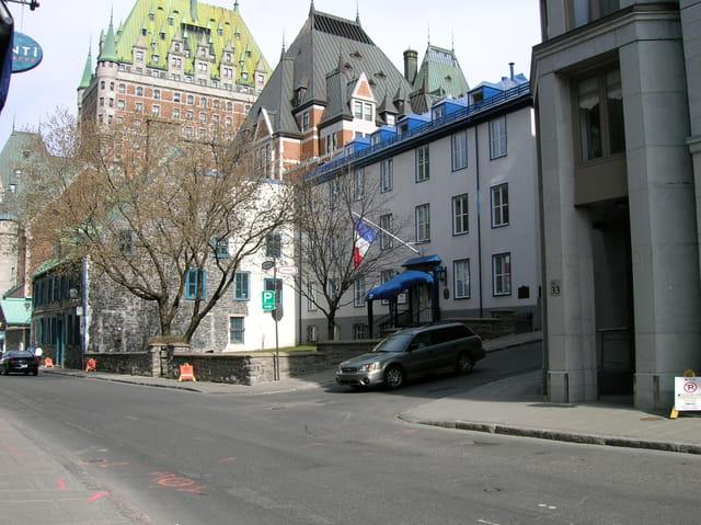 Consulat de France près du Château Frontenac. Québec