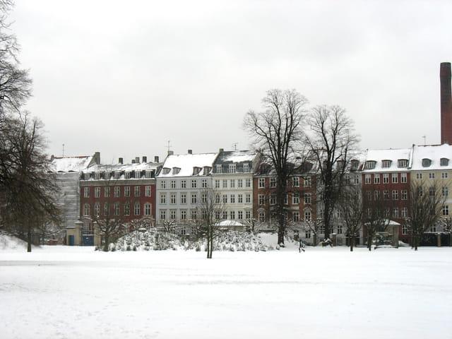 Copenhahue enneigée