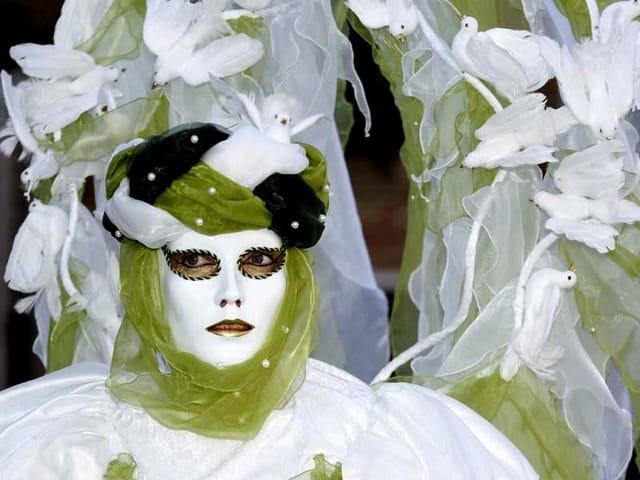 Costumes et Mimes (Caranval de Venises)