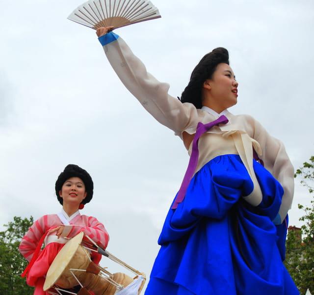 Costumes traditionnels coréens