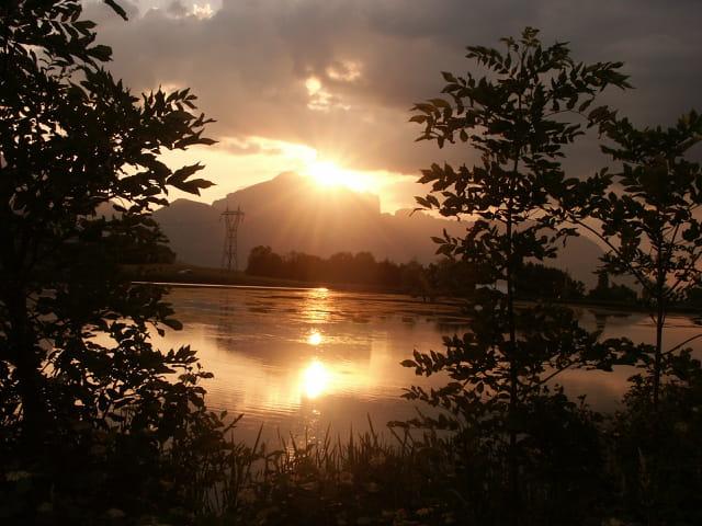 Le soleil tire sa révérence