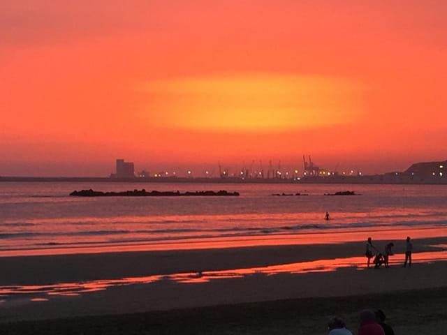 Coucher de soleil à Agadir