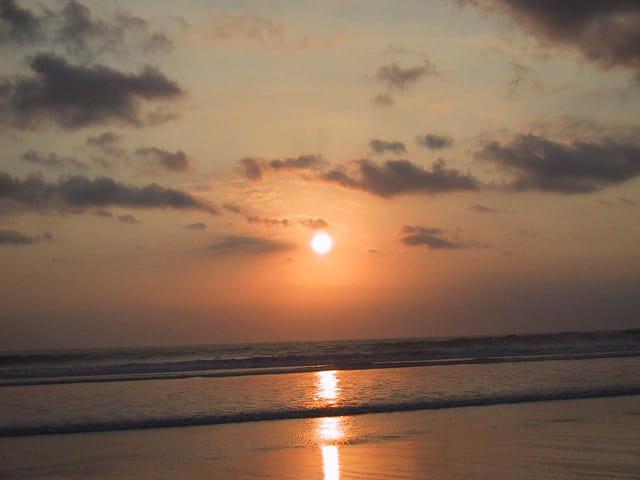 Coucher de soleil à Bali