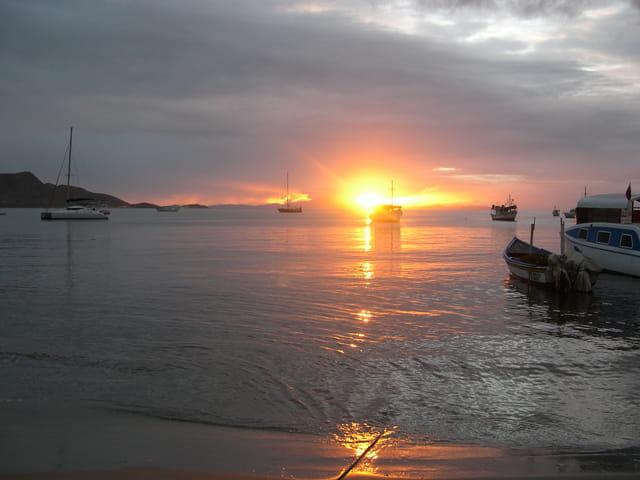 Coucher de soleil a Juangriego