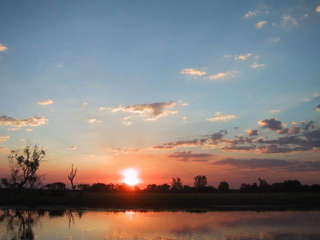 Coucher de soleil à Kakadu