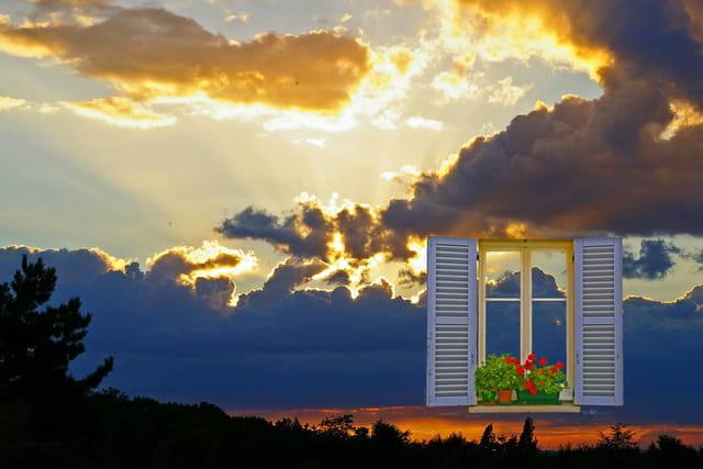 Coucher de soleil à Plaisir