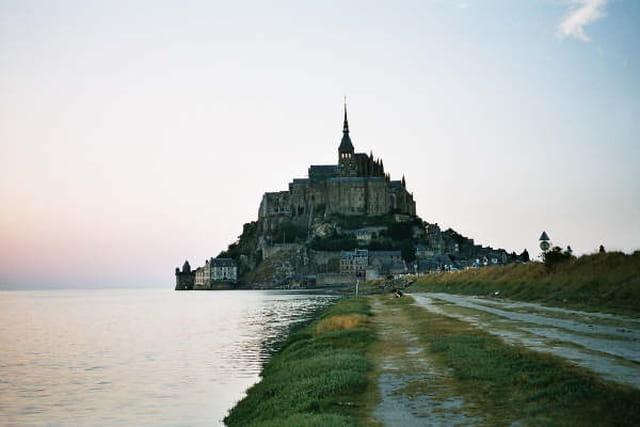 Coucher de soleil au Mont Saint Michel