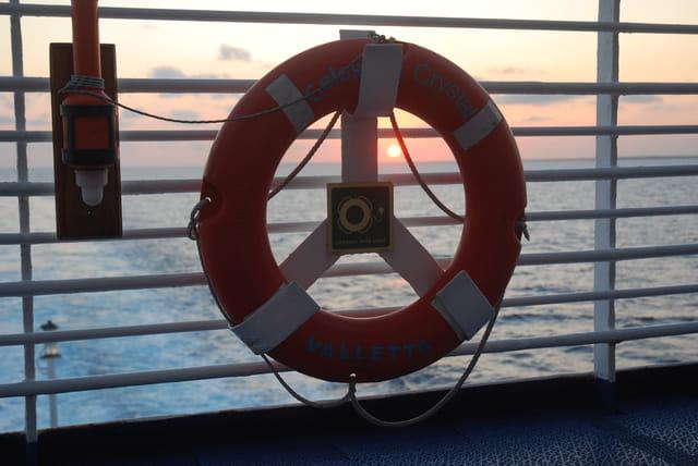 coucher de soleil dans les Caraïbes