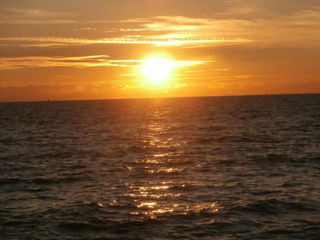 coucher de soleil de septembre