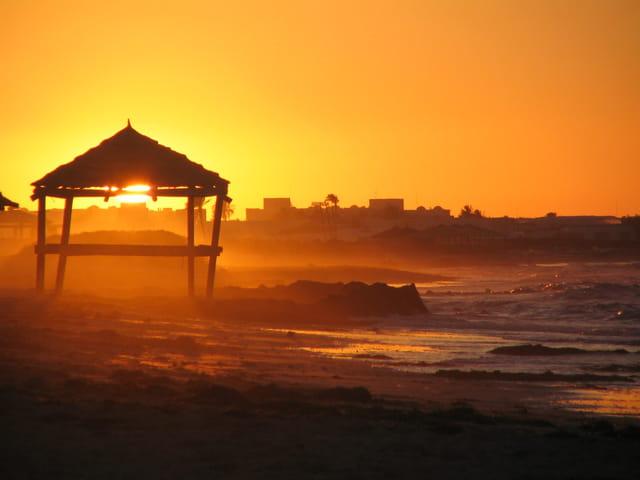 Coucher de soleil sur Djerba