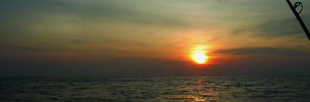 Coucher de Soleil en Mer Andamane