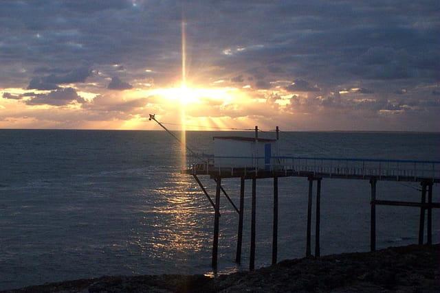 coucher de soleil sur carlet