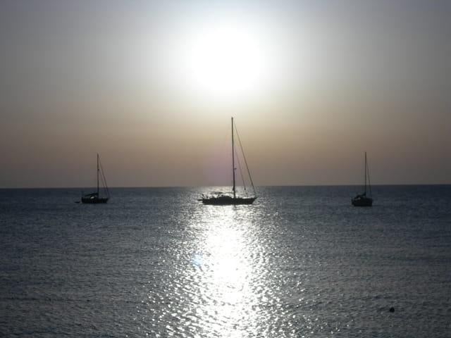 Coucher de soleil sur Cefalù