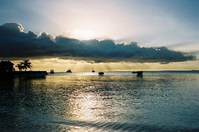 Coucher de soleil sur l'Ile Maurice