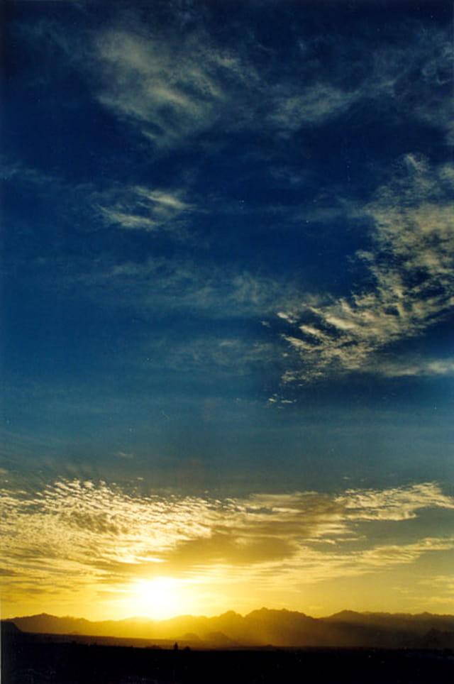Coucher de soleil sur le Sinaï