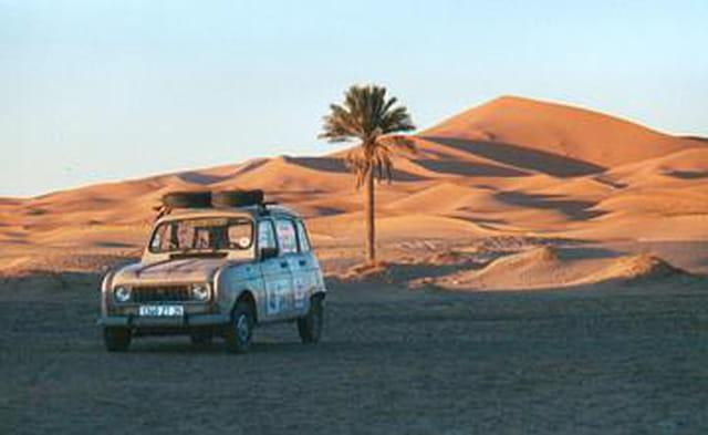 Coucher de soleil sur les dunes...