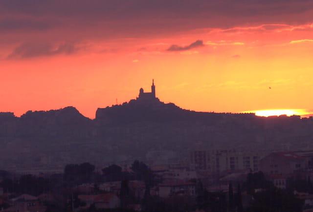 Coucher de Soleil sur Marseille...