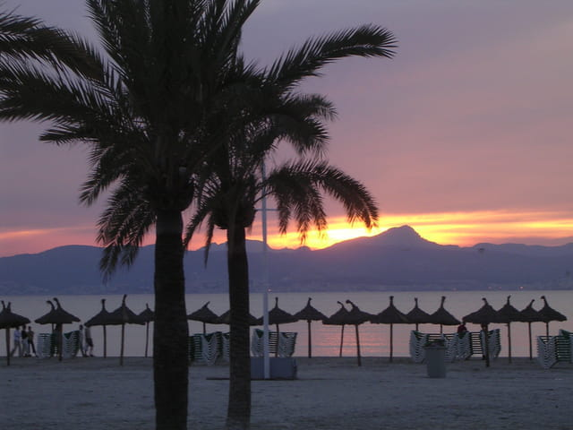 Coucher de soleil sur Palma