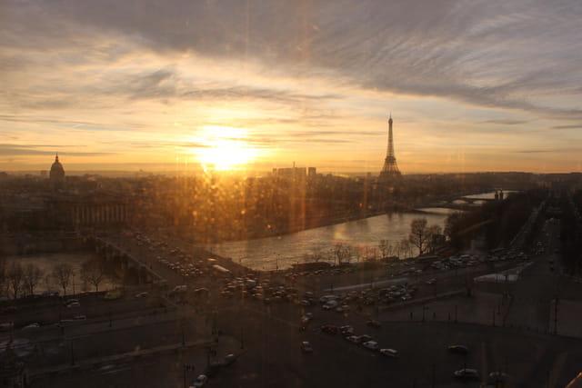 Coucher de soleil sur paris par odile boulet sur l 39 internaute - Coucher de soleil sur paris ...
