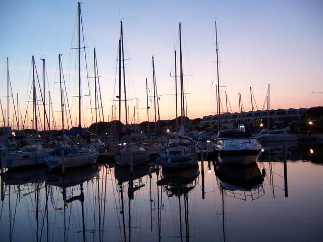 Coucher de soleil sur Port