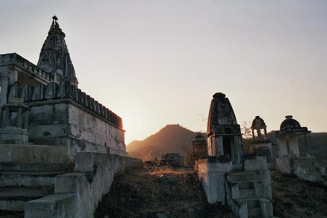 Coucher de soleil sur Ranakpur