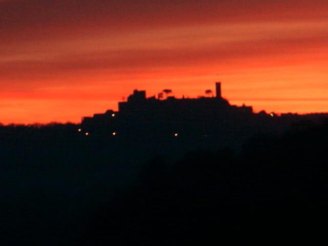 Coucher de soleil Turenne-Ville