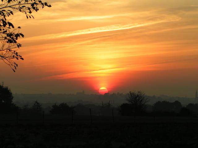 coucher des soleil