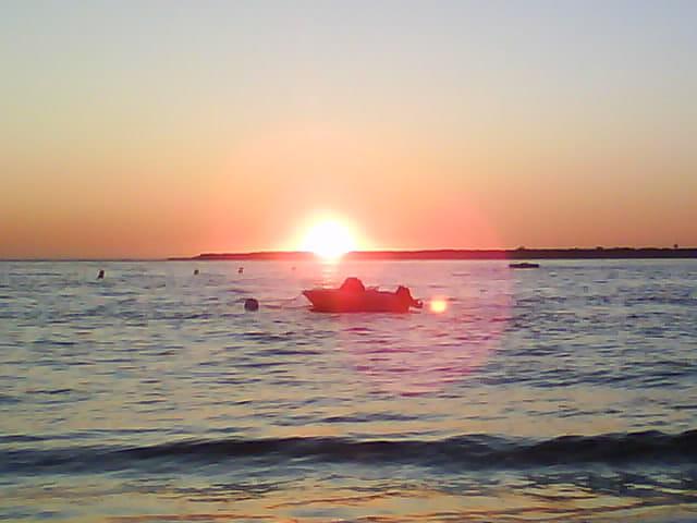 Coucher soleil Bassin Arcachon