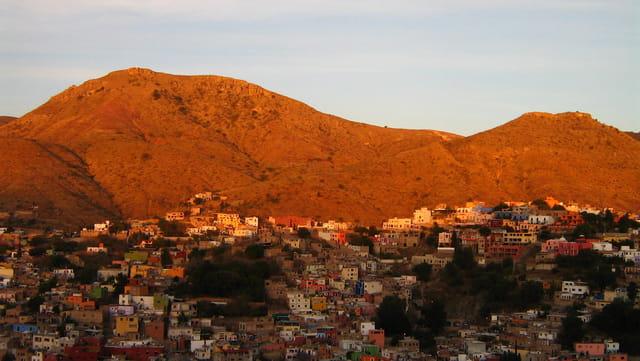 Coucher soleil mexicain
