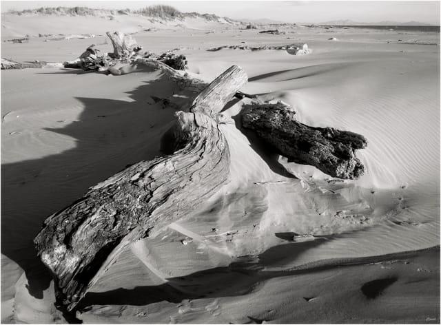 Coucher sur le sable...