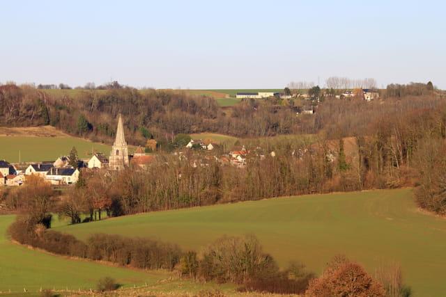 Coucy-la-ville, depuis Coucy-le-Château