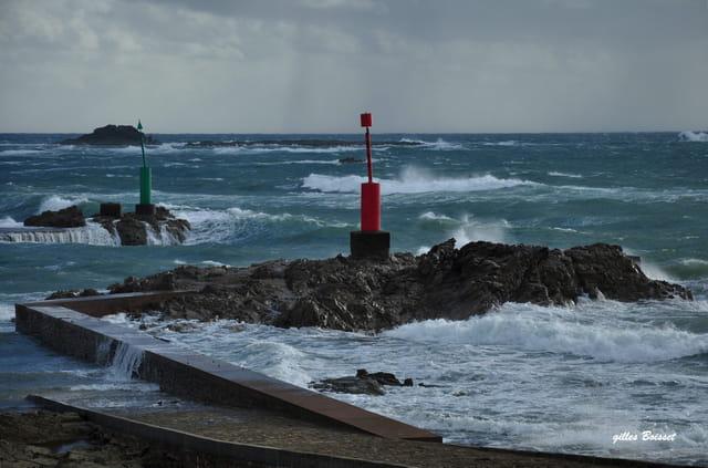 coup de vent au cap de la Hague