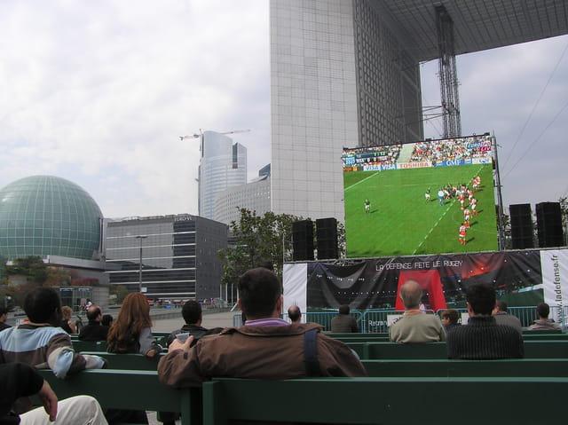 Coupe du Monde de Rugby à la Défense