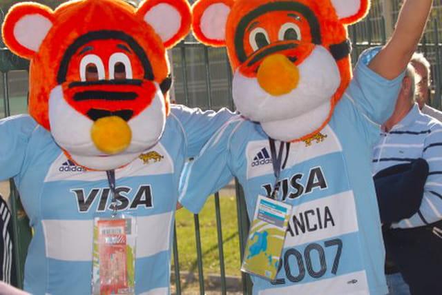 Coupe du monde de rugby LYON 2007