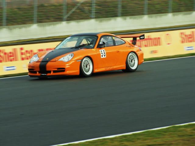 Coupe Porsche - Circuit de Nogaro.