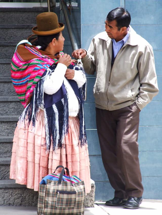 Couple bolivien