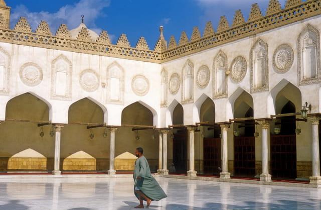 Cour de la mosquée Al-Azhar ( 972 )