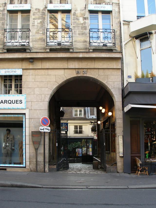 Cour du Commerce Saint André