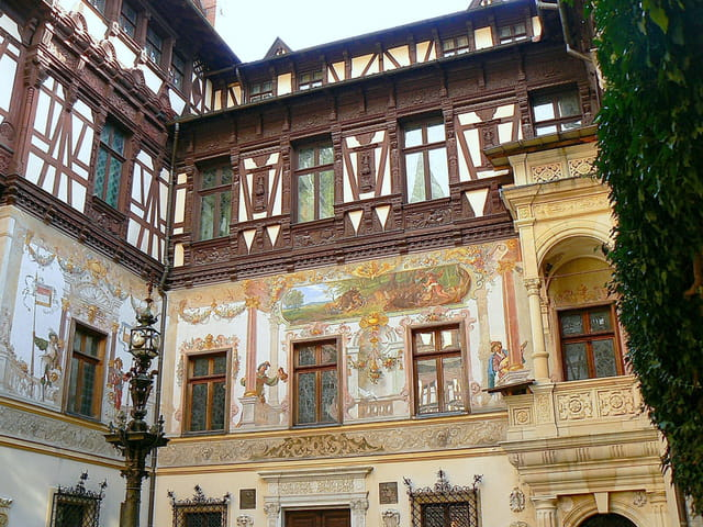 Cour intérieure du château