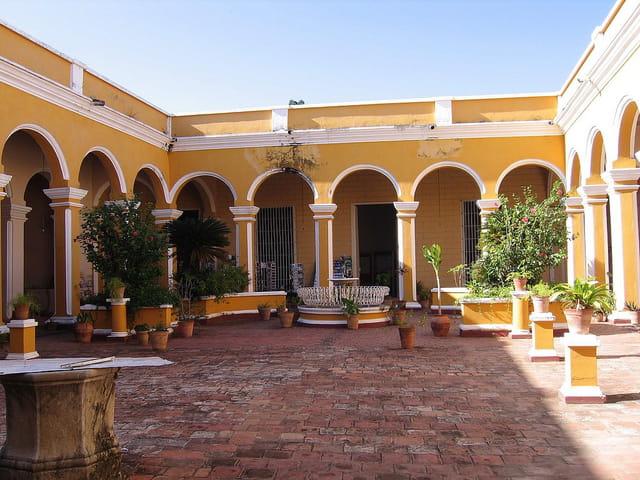 Cour intérieure du musée romantique