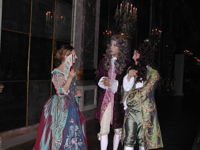 Courtisans à Versailles