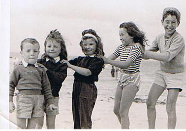 Cousins cousines à la plage