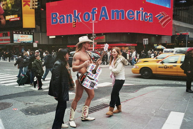 Cow boy newyorkais