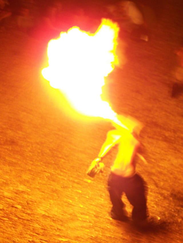 """Cracheur de feu """"fete de la musique"""