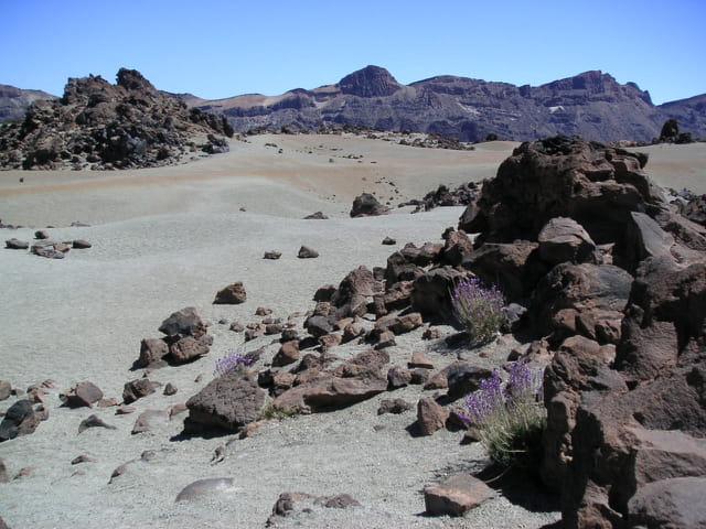 Cratère du teide