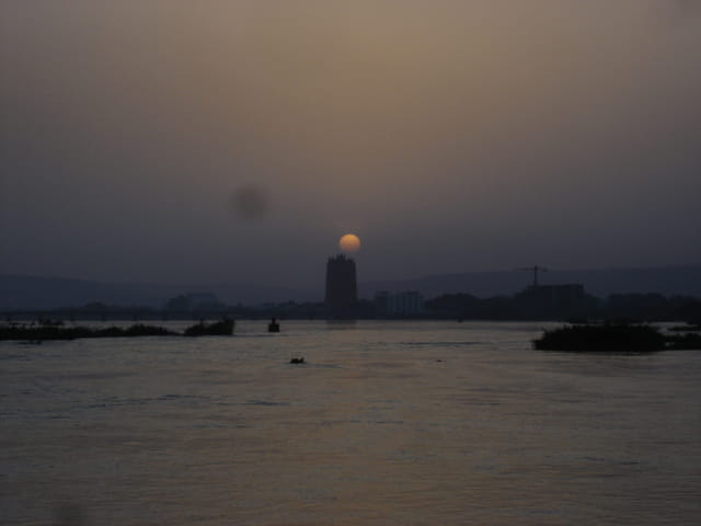 Crépuscule au Bamako